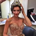 Главная красавица России в гостях у «МК»