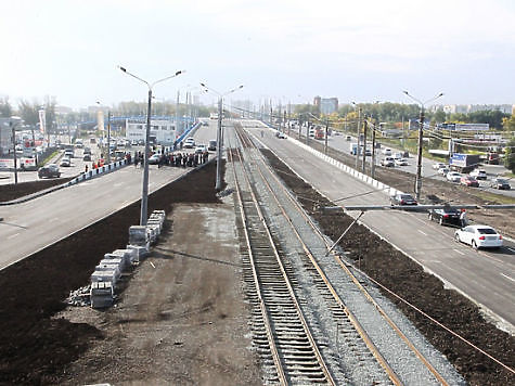 развязке в Челябинске