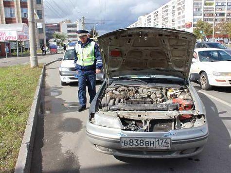 ВЧелябинске владелец автомобиля ездил сподложными номерами, чтобы неплатить штрафы