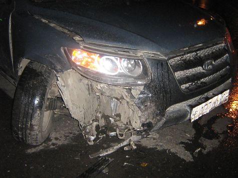 ВУдмуртии нетрезвый шофёр врезался в грузовой автомобиль
