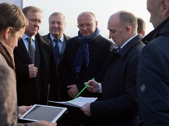 Борис Дубровский посетил «Малую Сосновку» синспекторской проверкой