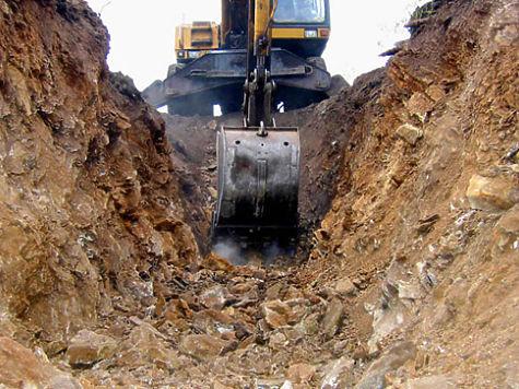 ВУсть-Катаве в итоге  обрушения траншеи пострадали двое работников водоканала