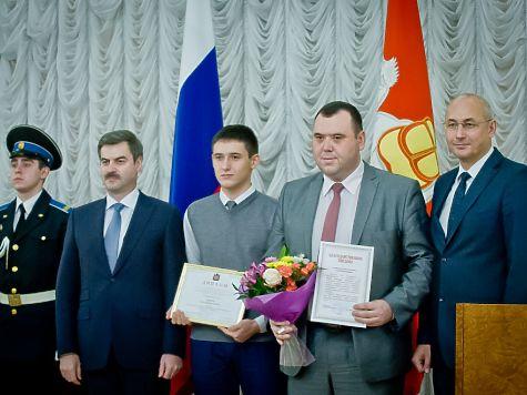 Талантливых школьников Челябинской области чествовали врезиденции губернатора