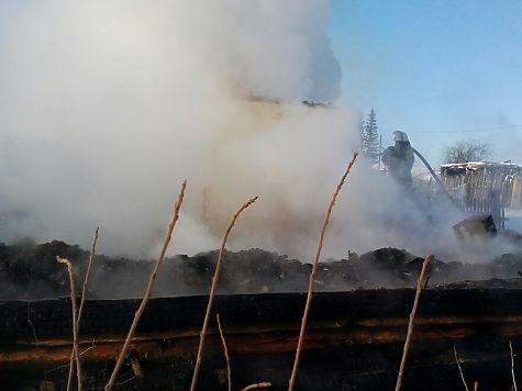 Три ребенка погибли напожаре вЧелябинской области