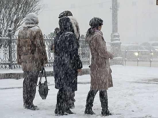 Продлено штормовое предупреждение— Мороз неотступает