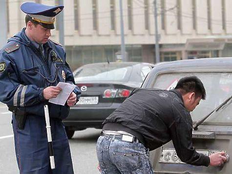 ВЧелябинске элитные иномарки разъезжали споддельными номерами