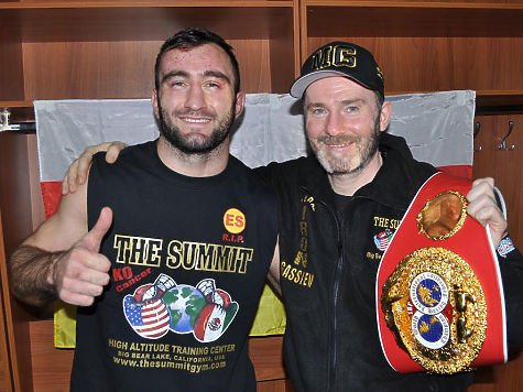 Боксер Денис Лебедев лишился титула чемпиона мира поверсии IBF