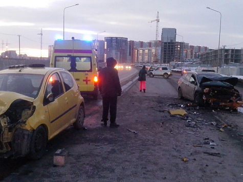 Автомобилистка, раненая вжутком ДТП наУниверситетской Набережной, погибла  в клинике