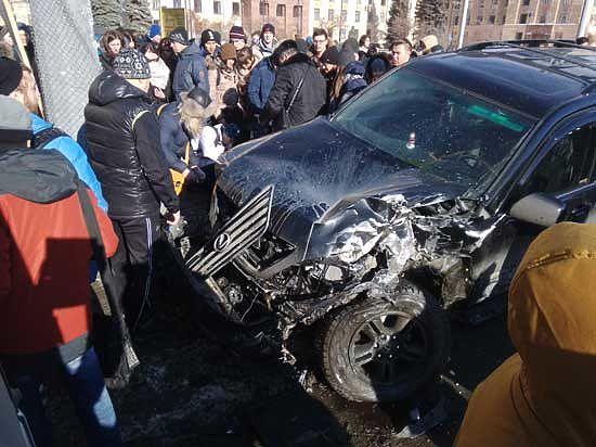 От стонов пострадавших  было очень страшно…