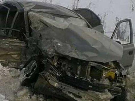 Пассажир иномарки скончался влобовом ДТП под Чебаркулем