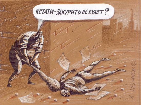 В Златоусте дебошир избил полицейского