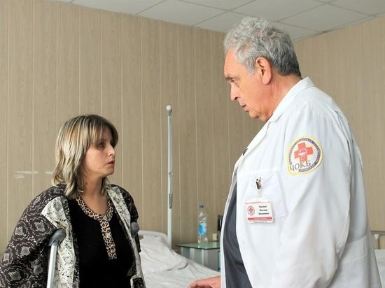 «Прощайте, костыли!»: в 37 лет жительница Коркино получила возможность ходить
