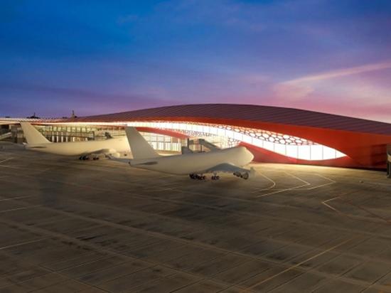 Новое здание челябинского аэропорта будет с телетрапами и спецзалами