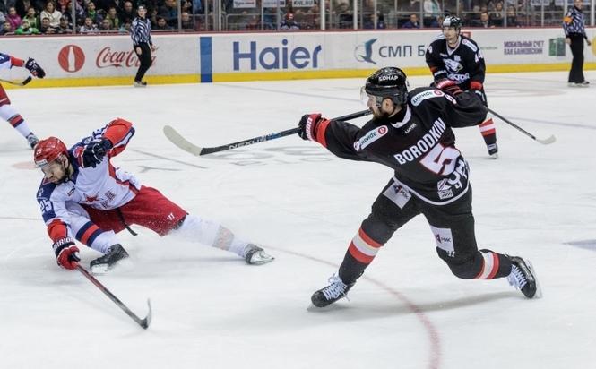 ЦСКА обыграл «Трактор», продлив свою победную серию до 8-ми матчей