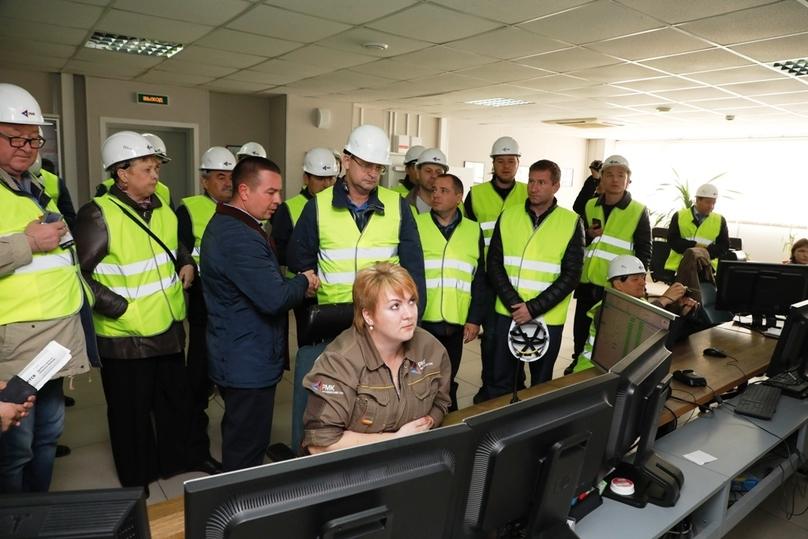 Профессионалы вобласти горнодобывающей ветви посетили Михеевский ГОК РМК