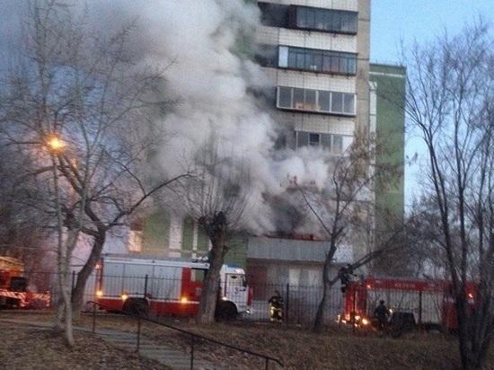 Два человека погибли,  11 пострадали: пожар в общежитии на III Интернационала, 59