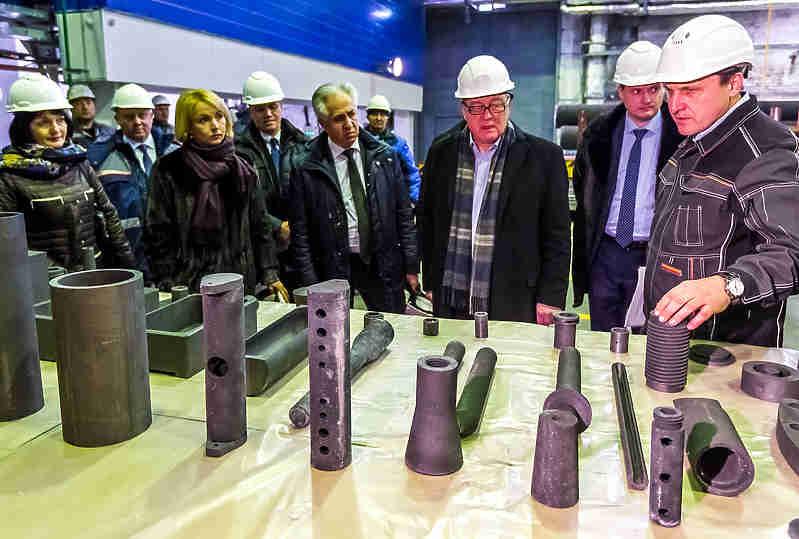 ВЧелябинске открылась линия попроизводству инновационного графита