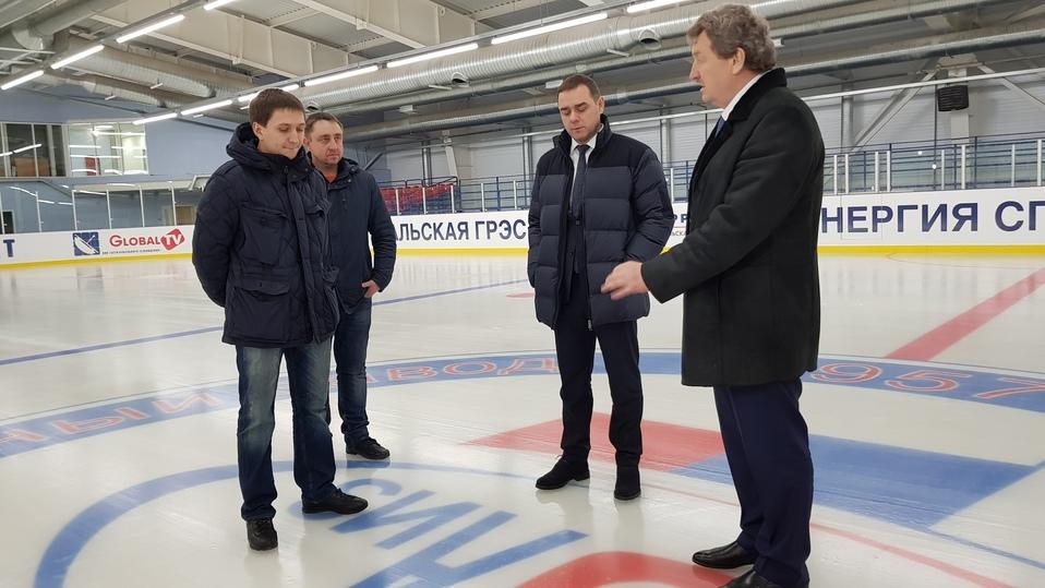 ВЮжноуральске заканчивается строительство ледовой арены