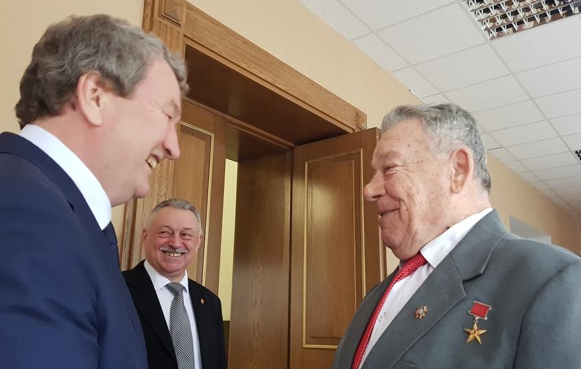 Анатолий Литовченко отчитался перед ветеранским активом Южного Урала