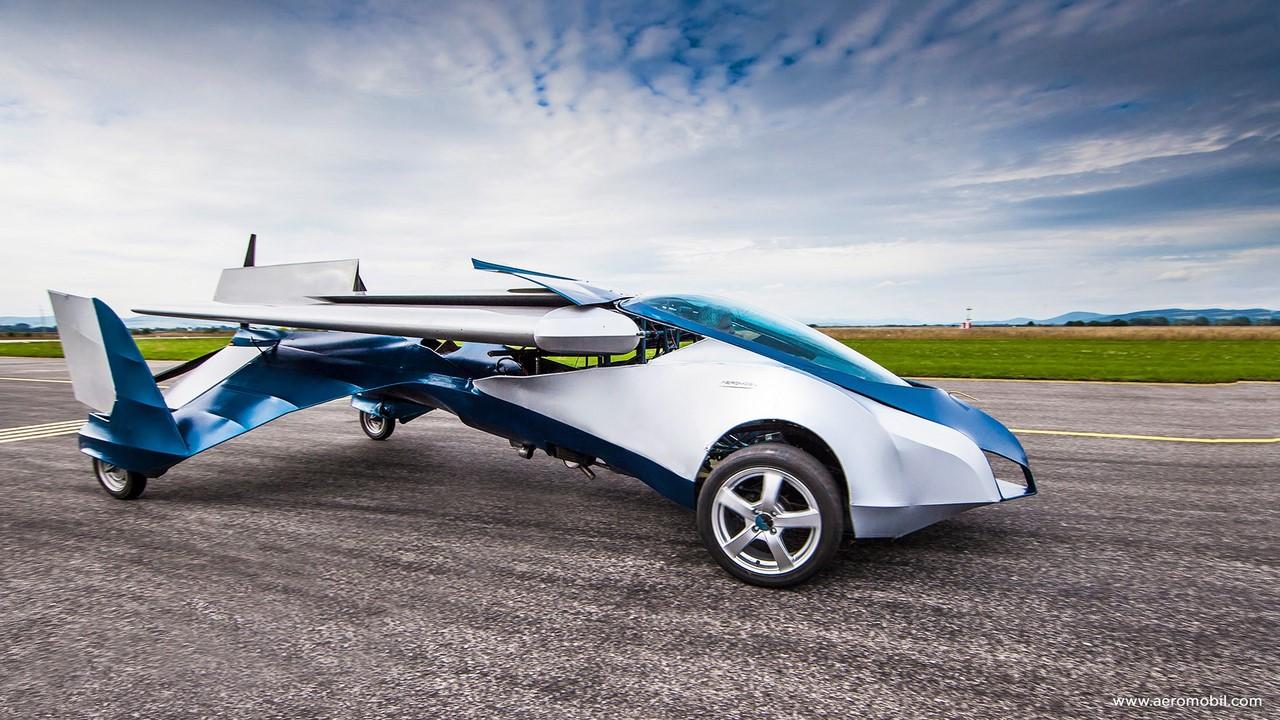 Назван срок создания «летающего автомобиля» в Российской Федерации