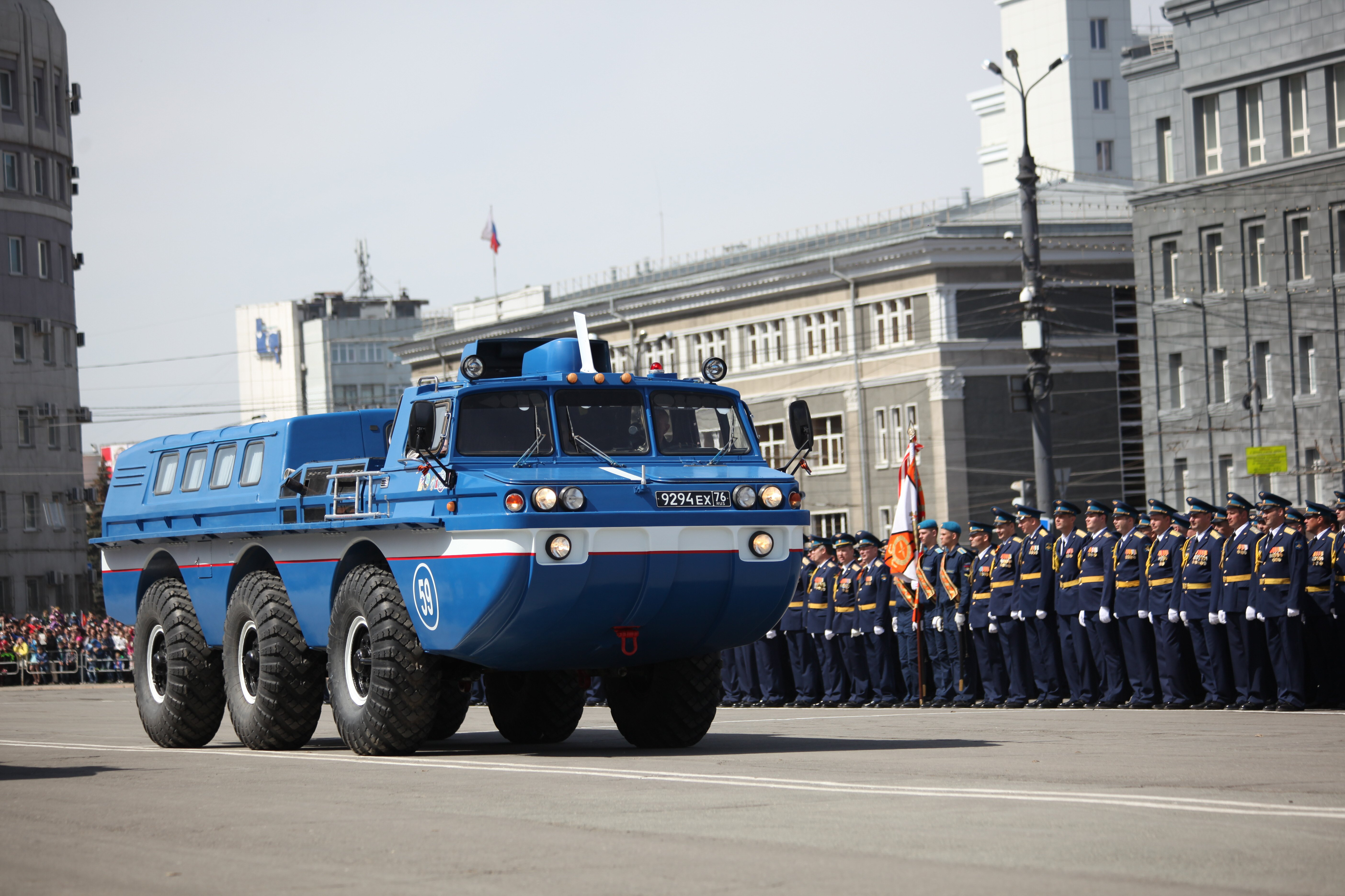 Бронетранспортер (10.05.2017) - Парад Победы вЧелябинске 2017