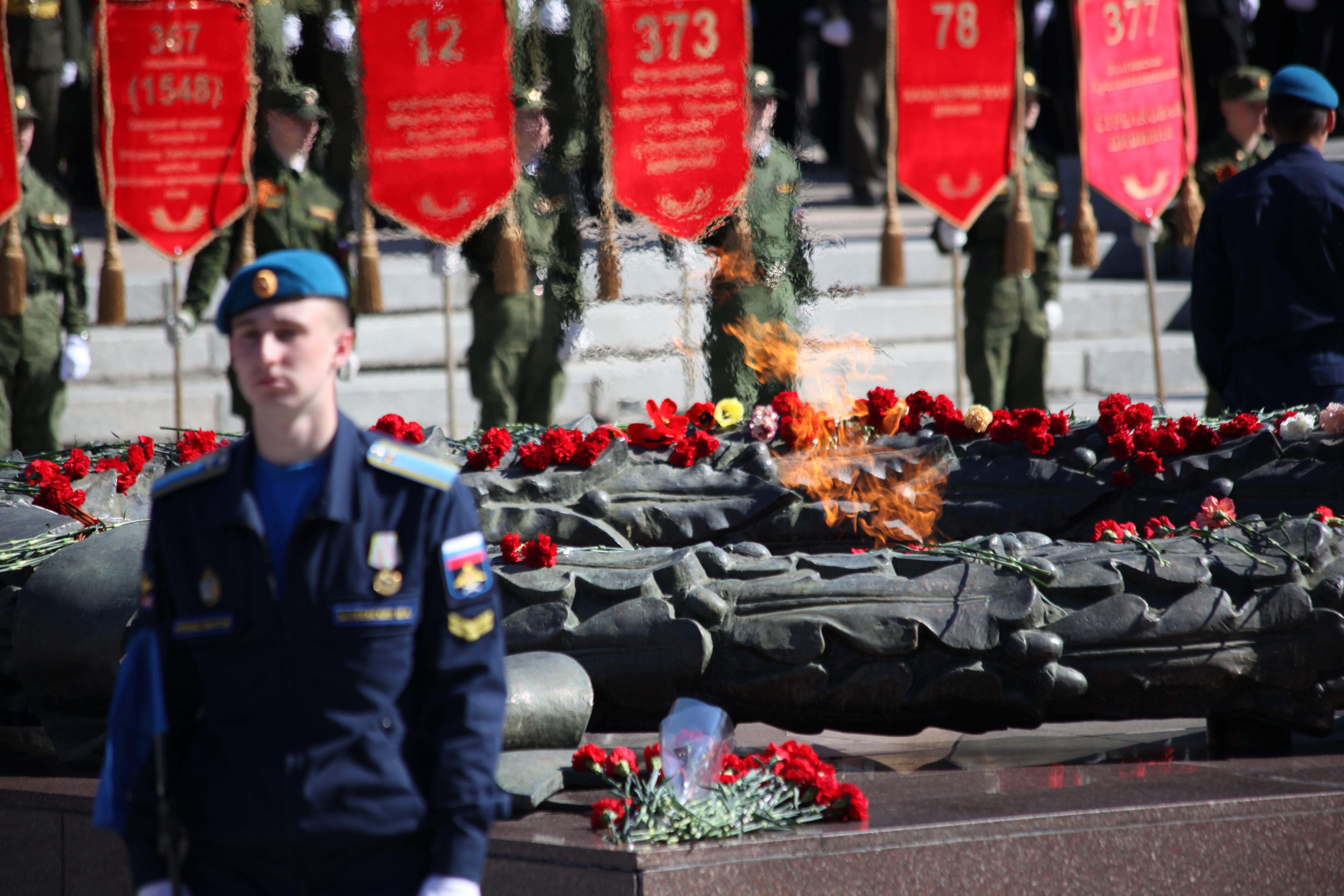 Вечный огонь (10.05.2017) - Парад Победы вЧелябинске 2017