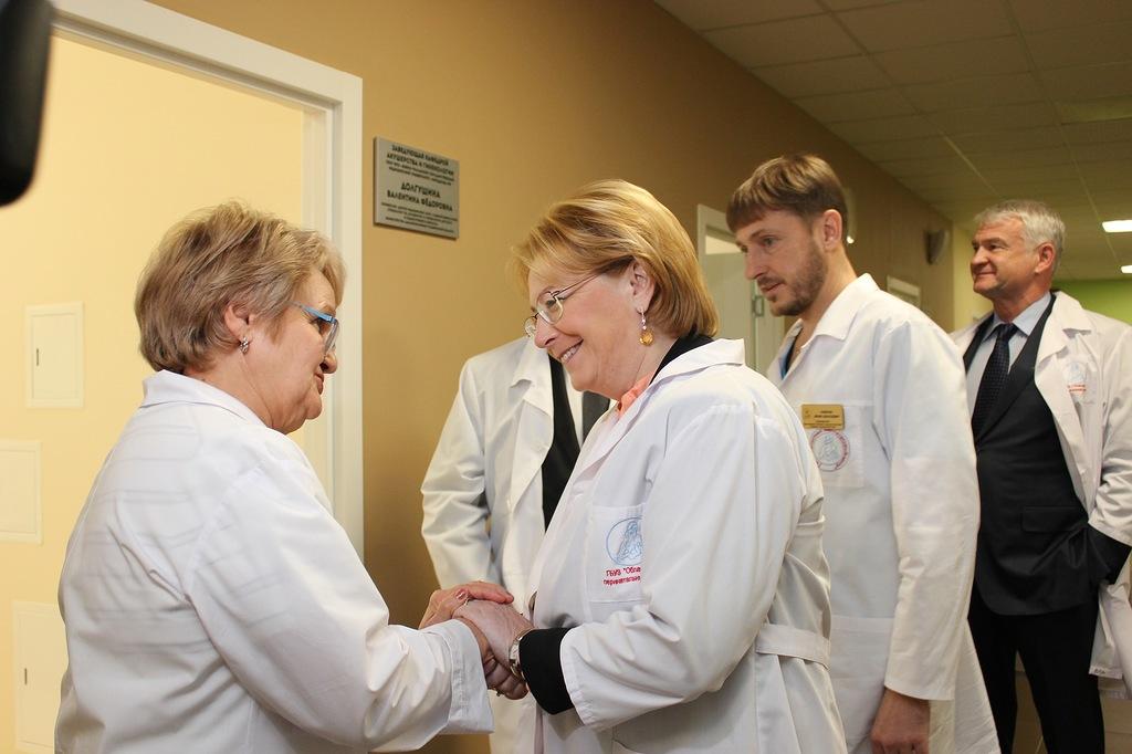 Руководитель Министерства здравоохранения побывала вновом перинатальном центре вЧелябинске
