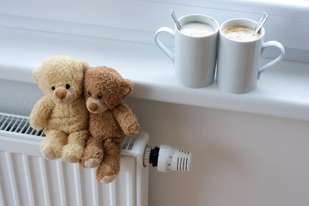 Отопление включили в детсадах и больницах